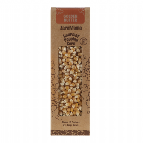 Golden Butter - ZaraMama Popcorn Gourmet Popping Corn Gift Box 400g